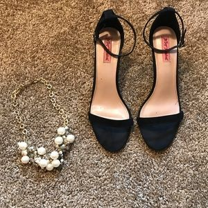 Betsey Johnson Black Heels